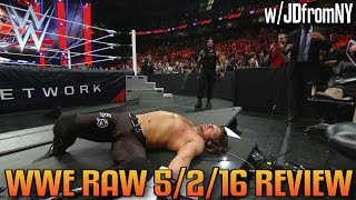 WWE Raw 5/2/16 Review: WWE Payback 2016 Fallout, Roman Reigns Gets Extreme On AJ Styles