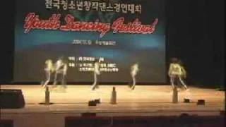 [Moo-Ah]Korean teenager dance competition 2006 (high school girls)