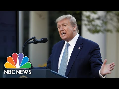 Fact Checking Trump s Claims On Covid And The Election Throughout The Year NBC News NOW