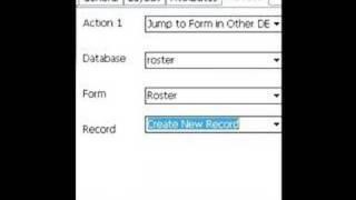 HanDBase 4 Tutorial: Jumping Form to Form in DB (Pocket PC)