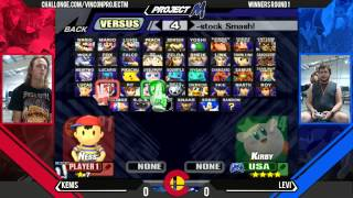 VC - Kenis (Ness) Vs. Levi (Lucario, Kirby) - Project M WR1