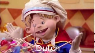 Cooking By The Book, but Ziggy only says JAAA in Dutch and I stole the video it's in the description