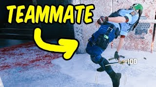 My bad...  - Rainbow Six Siege Funny Moments & Epic Stuff
