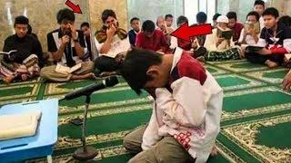 ملايين أنفجروا بالبكاء الأب غني ولكن ابنه أحرجه بشكل لن تتخيله !!