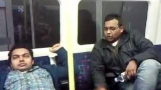 Funny Bangla comedy in London underground..3gp