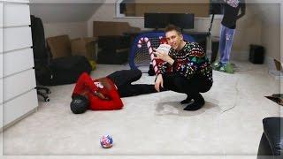 CHRISTMAS INDOOR FOOTBALL CHALLENGE!