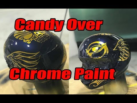 Xxx Mp4 Candy Over Chrome Paint Custom Helmet Spray Job 3gp Sex