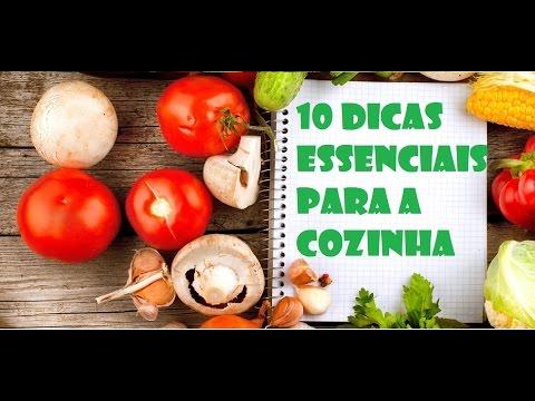 10 dicas essenciais para a cozinha