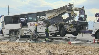 13 People Dead and 31 Injured in One of California's Deadliest Highway Crashes
