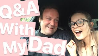 Q&A With My Dad *funny* - Drive With Me ♡ | Summer Xo