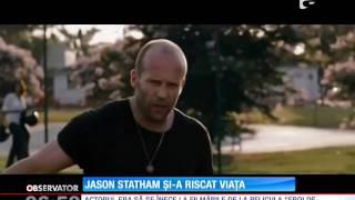 Jason Statham, la un pas de înec în timpul filmărilor de la