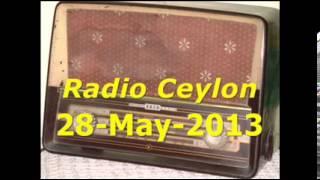 Purani Filmon Ka Sangeet~Radio Ceylon 28-05-2013~Morning~Part-1