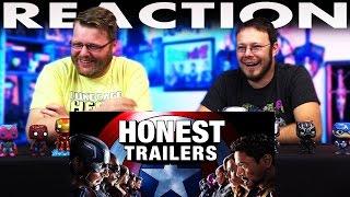 Captain America: Civil War Honest Trailer REACTION!!