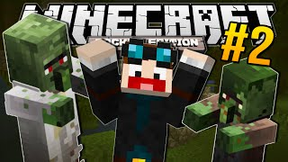 Minecraft Pocket Edition | CRAZY NEW ZOMBIES!! | #2