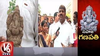 Mayor Bonthu Rammohan Face To Face, Urge People To Use Eco Friendly Ganesh Idols || V6 News