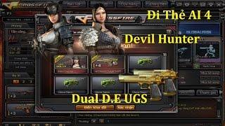 [ Bình Luận CF ] Đi Thẻ AI 4 Kiếm Đồ - Ra Luôn Devil Hunter ✔「Pino.NTK」