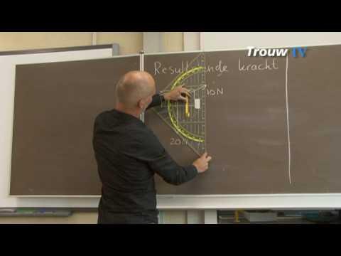 Oefen je eindexamen natuurkunde: bereken de resulterende kracht