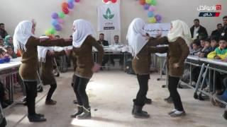 """حفل تكريم المتفوقين من طلاب المدارس في المخيمات الحدودية مع تركيا برعاية جمعية """"عطاء"""""""