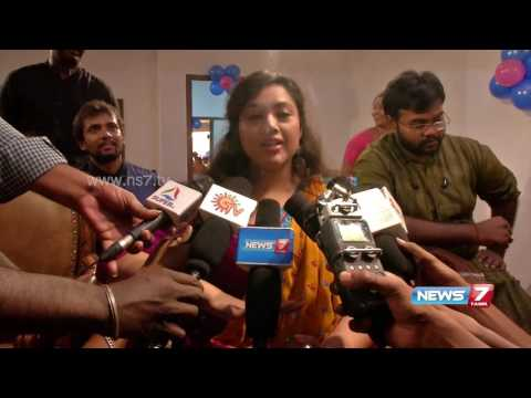 Actress Meena speaks about her zumba training | News7 Tamil