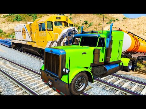 Xxx Mp4 COLOR Truck In Trouble With Trains Nursery Rhymes Songs 3gp Sex
