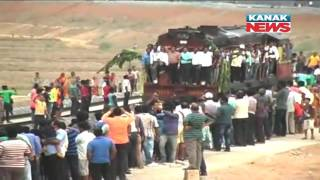 Train Chugs Into Odisha's Nayagarh