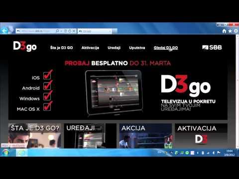 SBB D3 GO - Windows platforma (tutorijal)