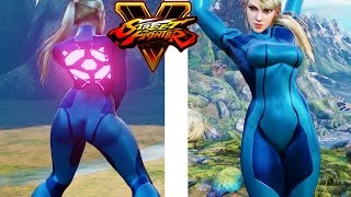 Cammy Zero Suit Samus Mod | Street Fighter V PC Modding