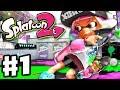 Download Video Download Splatoon 2 - Gameplay Walkthrough Part 1 - Turf War Multiplayer! Single Player! (Nintendo Switch) 3GP MP4 FLV