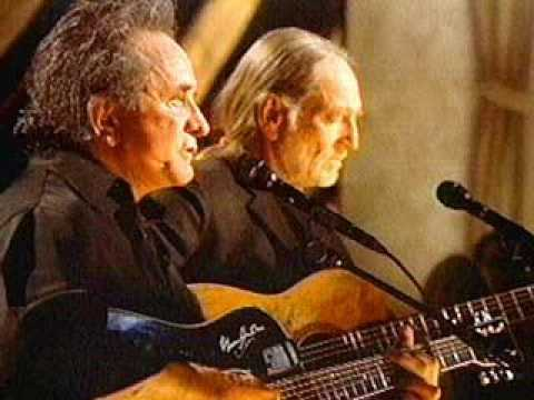 Ghost Riders In the Sky Willie Nelson & Johnny Cash
