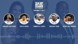 UNDISPUTED Audio Podcast (11.02.17) with Skip Bayless, Shannon Sharpe, Joy Taylor | UNDISPUTED