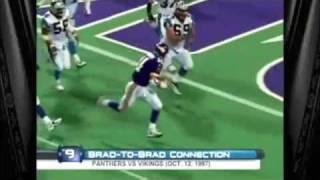 1997 Brad Johnson TD Pass to Himself