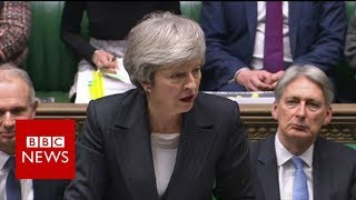 PMQs: Theresa May faces MPs