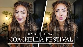 MY FESTIVAL INSPIRED HAIR TUTORIAL FOR COACHELLA