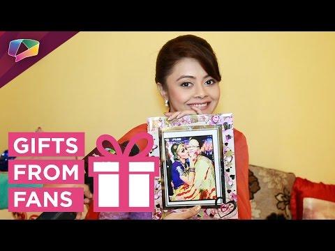 Devoleena Bhattacharya receives gifts from her fans