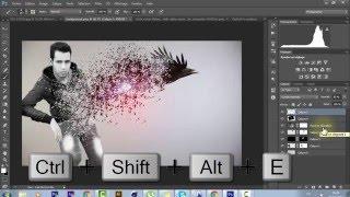 Photoshop CS6: Disintegration Effect | تأثير إحترافي على الصور