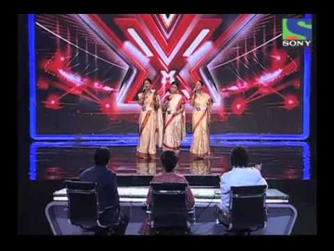 X Factor India - Sajda Sisters' lovely performance on Dola Re Dola - X Factor India - Episode 4 -  1st June 2011