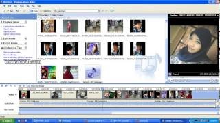 tutorial cara buat photo menjadi vidio (Windows Movie Maker) info lengkap