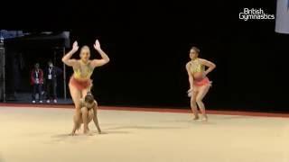 ACRO Women 13-19 Group - East Killbride - SILVER