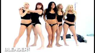 Exclusive: Behind-the-Scenes at the Pussycat Dolls Shoot