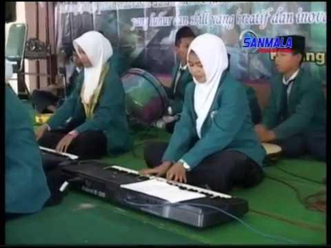 Sholawat Bikin Baper Maula Ya Sholli Wa Sallim Daiman Abada Siswa Mts Al Huda Karangpandan