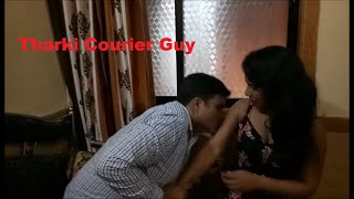 Courier Guy Forced Desi Girl for Romance