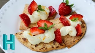 How to Make Strawberry Nachos |  Hilah Cooking