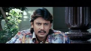 ಹುಡುಗನ ಹುಡುಗ ಮದುವೆ ಆಗಾಕ್ ಆಗುತ್ತಾ ! Darshan   Navya Nair   Gaja Kannada Movie  Kannada Comedy Scenes