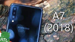 Samsung Galaxy A7 2018 In Depth Bangla Review | 4K | ATC