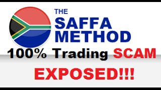 Saffa Method REVIEW - Trading SCAM Revealed (Aussie Method & Brit Method Duplicate)