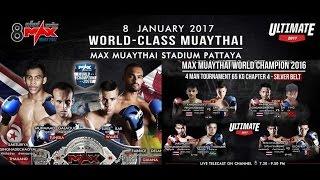 MAX Muay Thai 1-8-2017