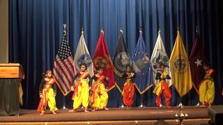 Takdum Takdum - Bengali dance by kids at Walter Reed