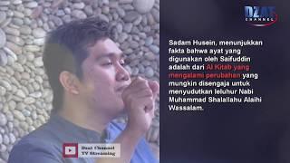 Kitab Suci yang Berubah krn kebencian, masihkah Suci ? Jawaban Telak kpd Murtadin  Saifuddin
