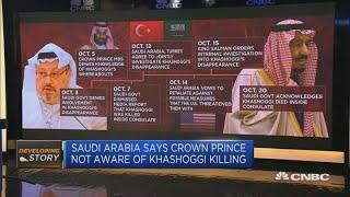 Saudi Arabia calls Khashoggi killing