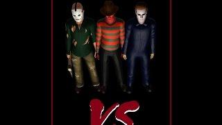 Freddy vs Jason vs Michael (Full Movie) 2015 - Sims 3 Horror